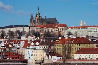 Vistas del barrio del Castillo - Praga