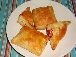 Receta de pasteles de guayaba