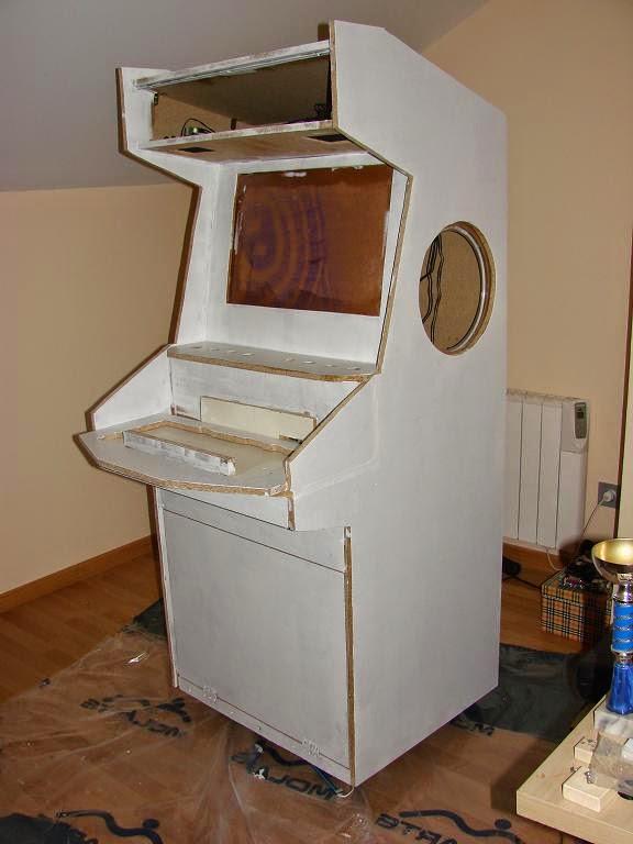 Xbox antigua como recreativa frecuency concept art blog for Como hacer una maquina recreativa