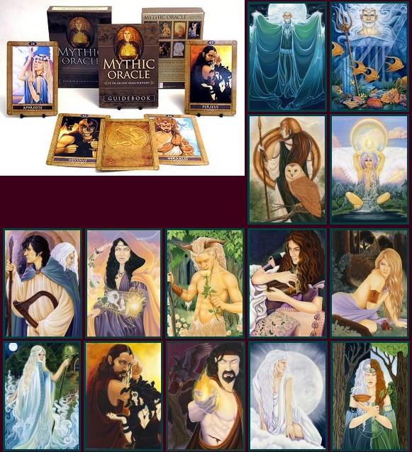 Mythic Oracle Michele Lee Phelan Ravynne Carisa Mellado ไพ่ออราเคิล ตำนานกรีก เทพเจ้ากรีก ฮีโร่ ไพ่ยิปซี ไพ่ทาโร่ ไพ่ทาโรต์ อัศวิน