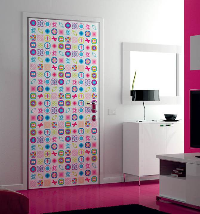 & Funky Door Prints artistic design by Karim Rashid pezcame.com