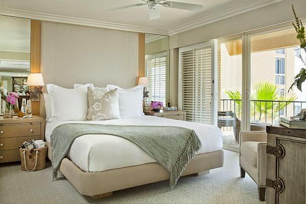 White sleek ways to decorate bedroom