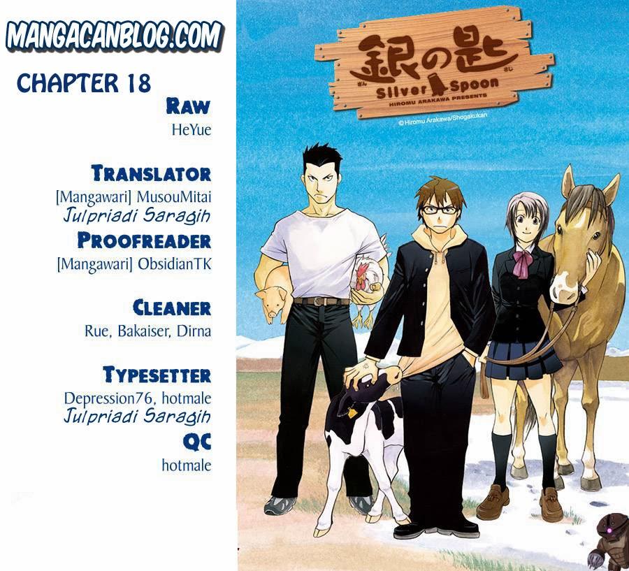 Dilarang COPAS - situs resmi www.mangacanblog.com - Komik silver spoon 018 - waktu musim panas 8 19 Indonesia silver spoon 018 - waktu musim panas 8 Terbaru |Baca Manga Komik Indonesia|Mangacan