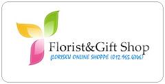 Logo Perniagaan Floristku Online Shoppe