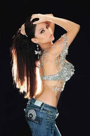 Haifa Wehbe Model Hot Asal Arab Saudi