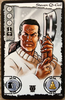 Steven Qi-Gal (Segal) Ghost Stories card