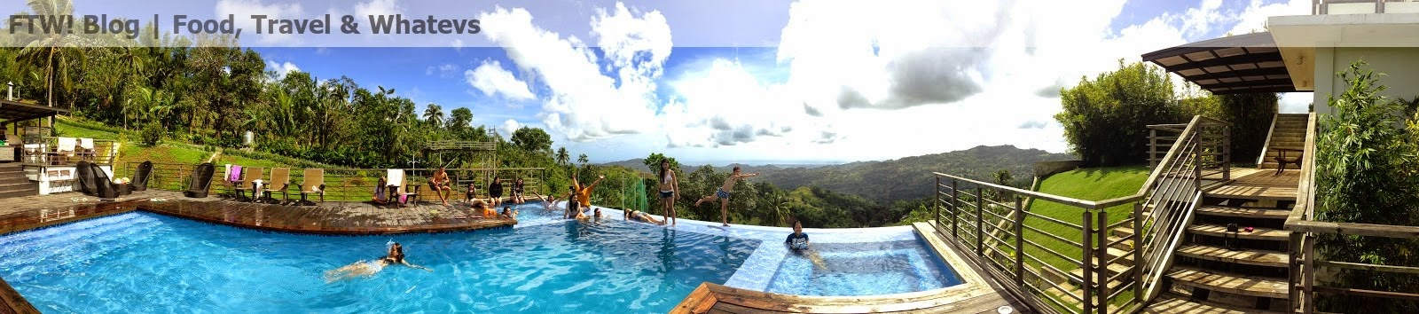Rancho Cancio, Infinity Pool, Jacuzzi FTW! Blog, zhequia.blogspot.com, #032escapades, retreat house, private resort