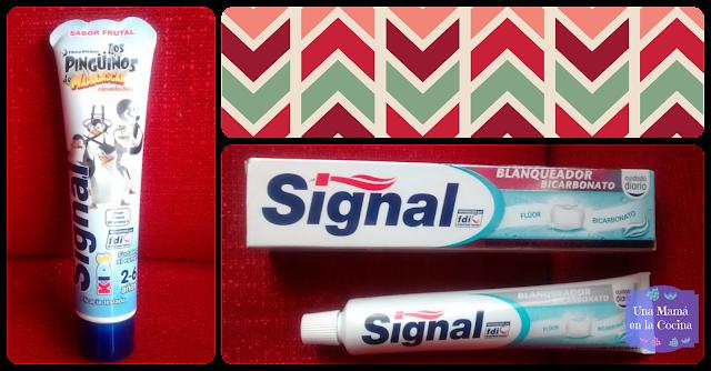 Pasta de dientes Signal