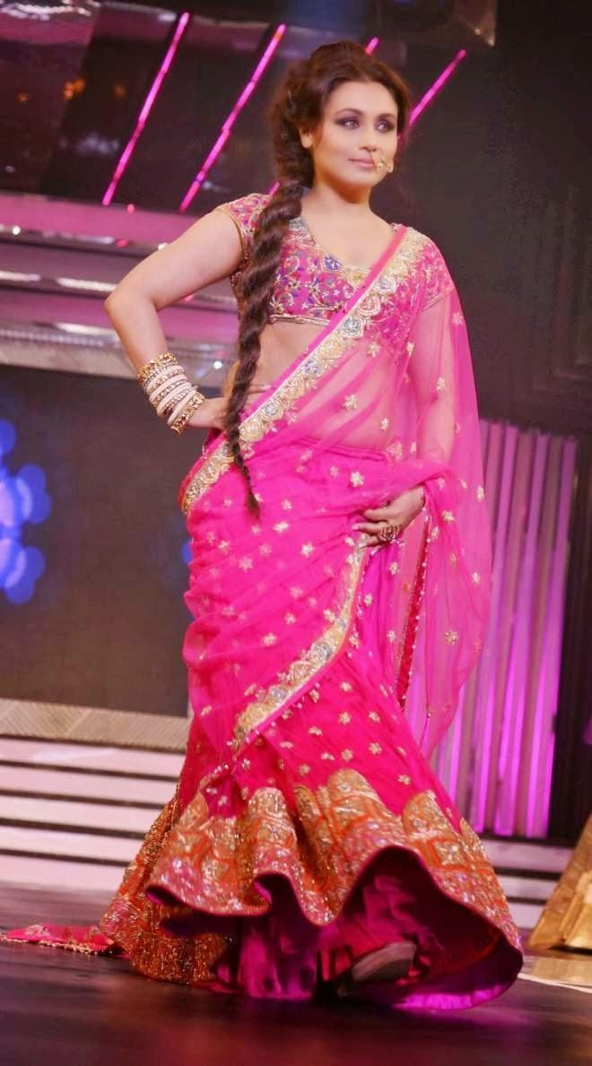 Rani Mukherjee Chopra Navel Show Photos