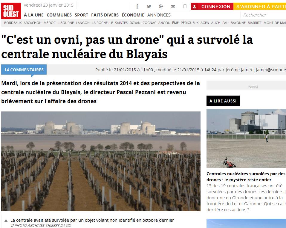 orbita cero mendoza argentina ovni no drone sobre planta de energ a nuclear en francia. Black Bedroom Furniture Sets. Home Design Ideas
