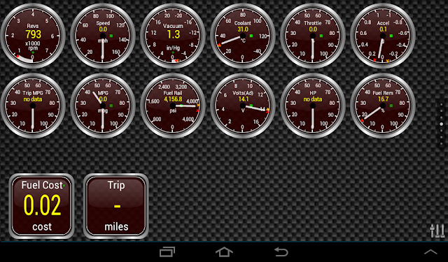 Torque For Android Gauges