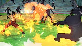 one piece pirate warriors 2 screen 5 One Piece: Pirate Warriors 2 (PS3/PSV)   Logo, Screenshots, Fact Sheet, & Trailer