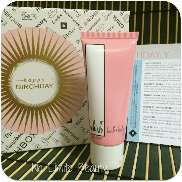 BirchBox Septiembre 2015 - Wish Bath and Body Gel - Pomegranate