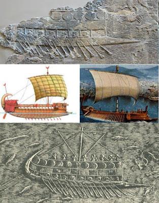 how to make a phonecian ship