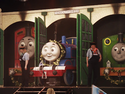 Thomas the Tank Engine live on stage