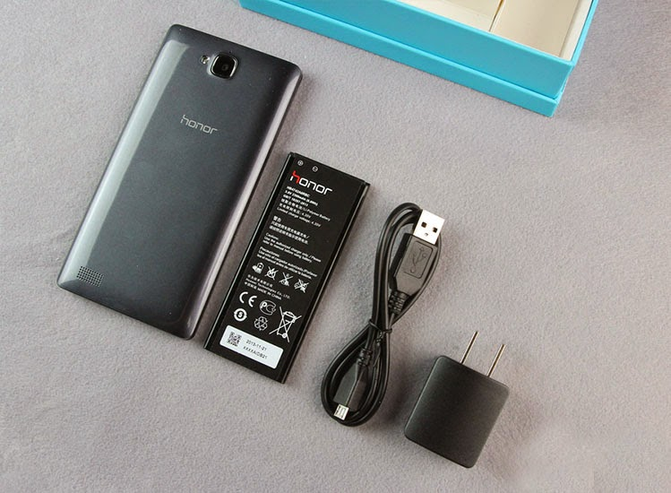 kelengkapan Huawei Honor 3C