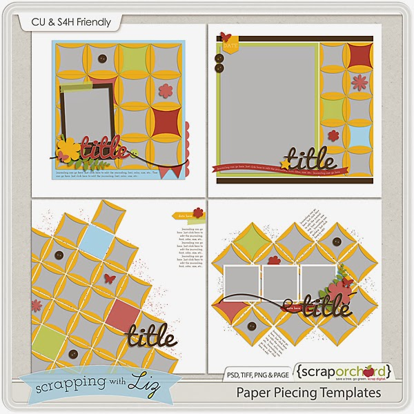 http://scraporchard.com/market/Paper-Piecing-Digital-Scrapbook-Templates.html