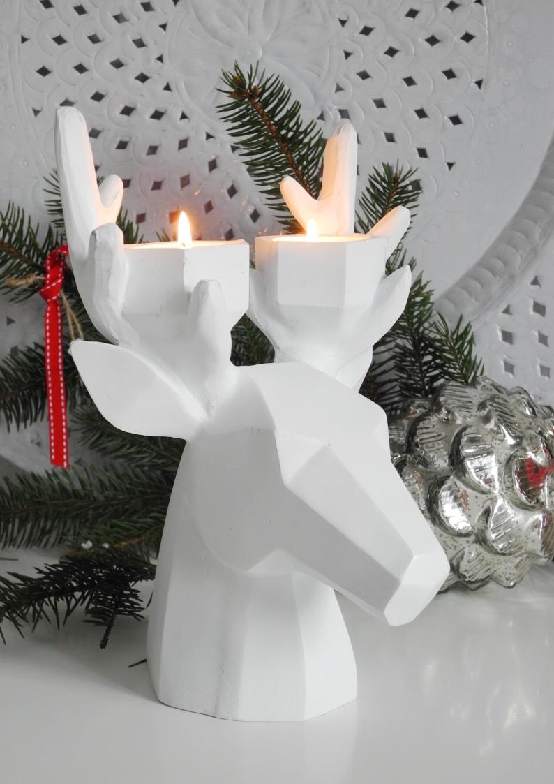 Świecznik WHITE DEER