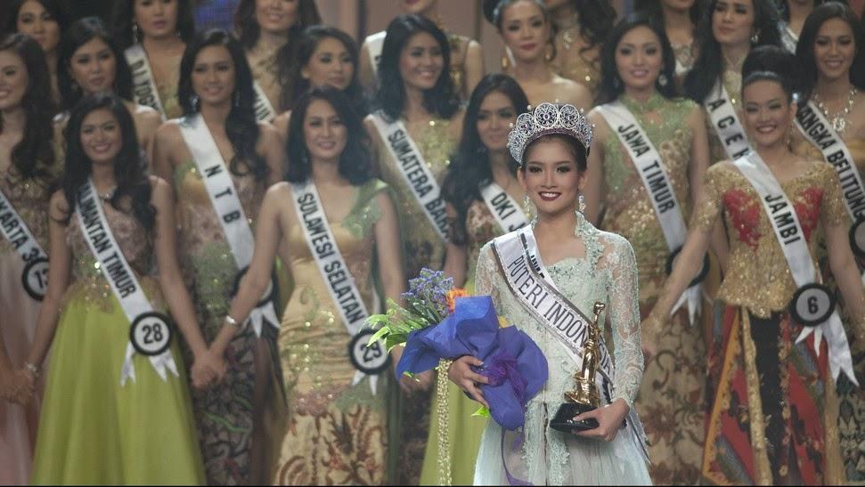 Anindya Kusuma Putri Terpilih Menjadi Puteri Indonesia 2015