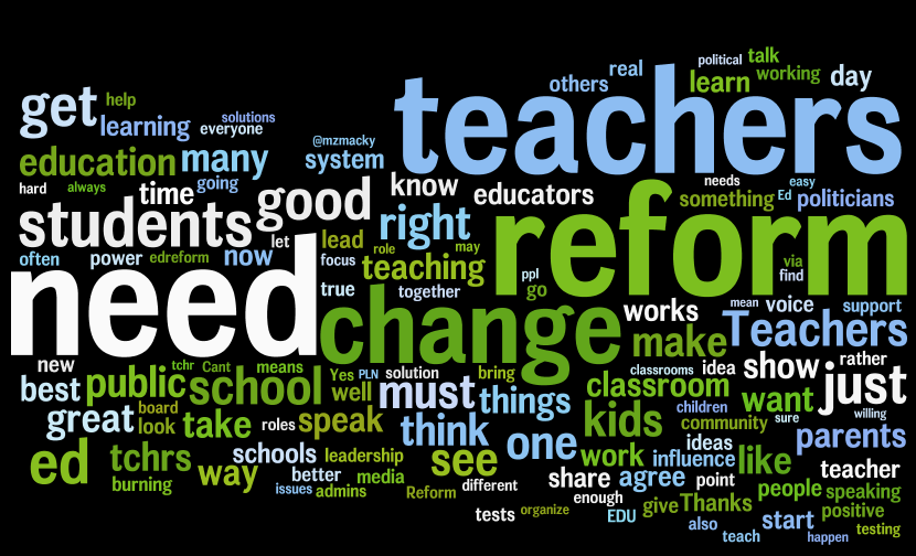 the positive ways of the education reform