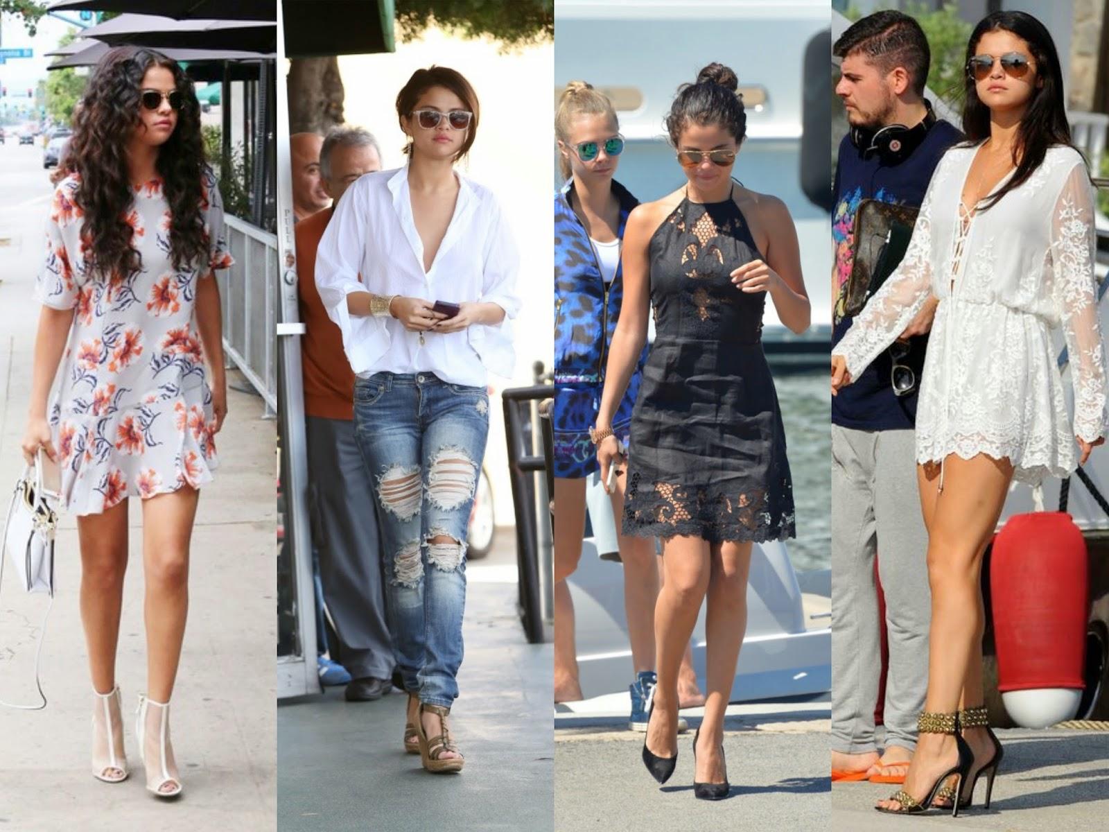 A Generic Giraffe Stylespo Sunday Selena Gomez Favorite Outfits
