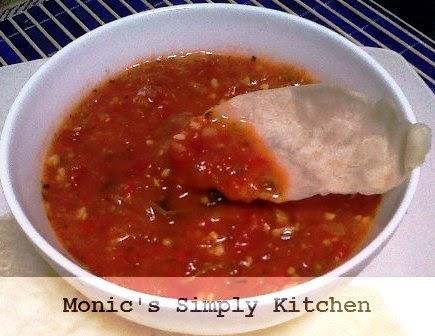 resep saus salsa homemade
