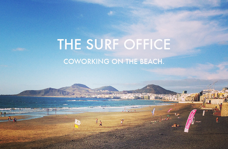 The Surf Office - accommodation & coworking space on Gran Canaria