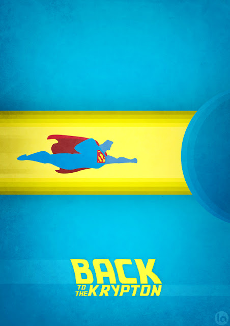 Superhero/Movie Mashup Posters