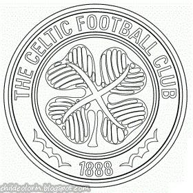 Emblem of Celtic FC Coloring