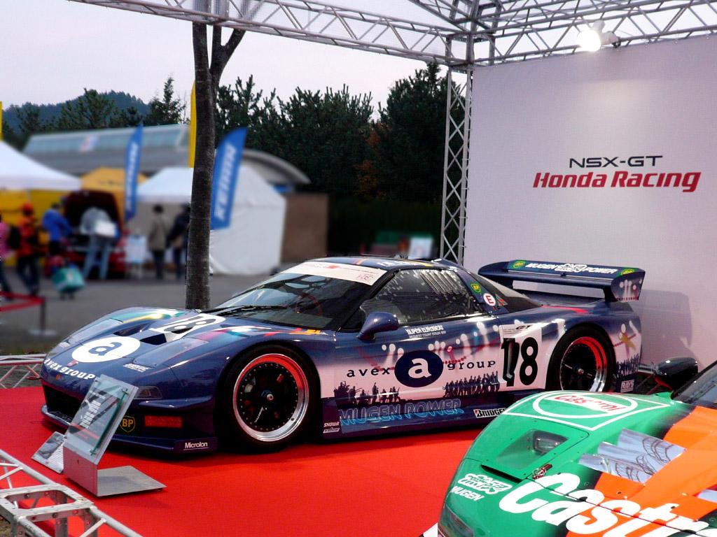 Honda NSX japoński supercar sportowy samochód kultowy V6 RWD VTEC wyścigi racing JGTC Super GT 1996 GT500 日本車 ホンダ アキュラ