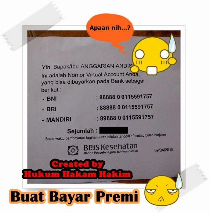 contoh Nomor Vitual Account BPJS Kesehatan