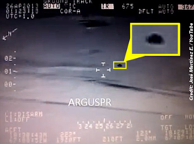 UFO Captured On FLIR Video by Homeland Security Helicopter?