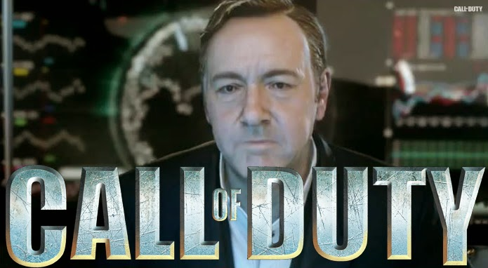 Call of Duty Advanced Warfare avec Kevin Spacey