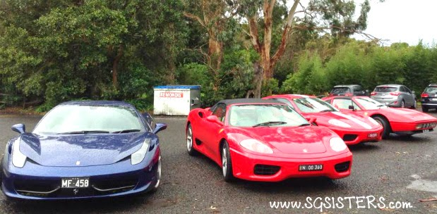 ... The Rainy Weather And Gloomy Skies, It Was A Pretty Good Turnout And  All Of Us Had An Enjoyable Time! I Look Forward To Attending The Next  Ferrari Club ...