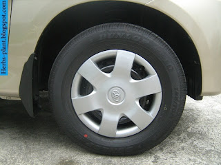 Toyota avanza car 2008 tyres/wheels - صور اطارات سيارة تويوتا افانزا 2008