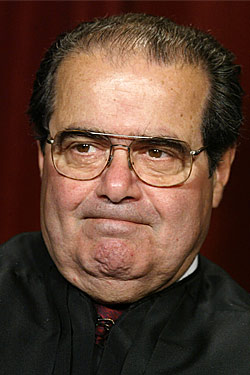 SUPREME COURT JUSTICE SCALIA DEAD AT 79.