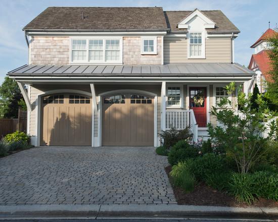 model desain eksterior garasi rumah minimalis desain