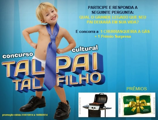 "Concurso cultural Duoflex - ""Tal Pai, Tal Filho"""