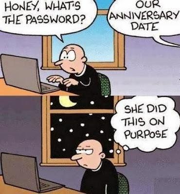Honey, What's The Password?