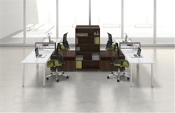 Mayline e5 Modular Furniture Configuration