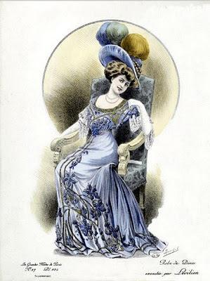 moda vintage damas victorianas