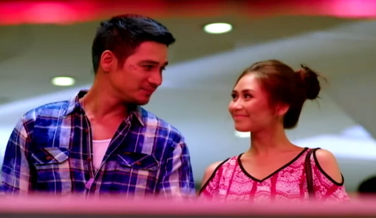 Sarah Geronimo Trixie as  and Piolo Pascual as Gino in Star Cinema 2015 romantic film The Breakup Playlist