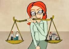 mulher equilíbrio vida pessoal profissional