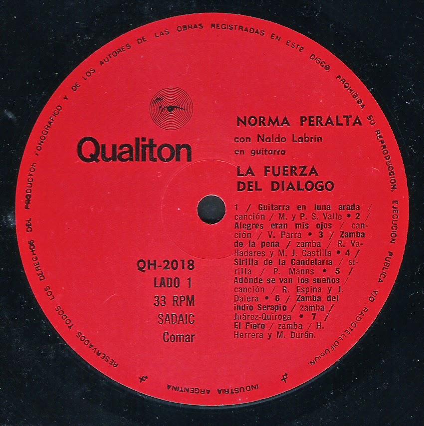 Norma Peralta - La fuerza del dialogo (1972)