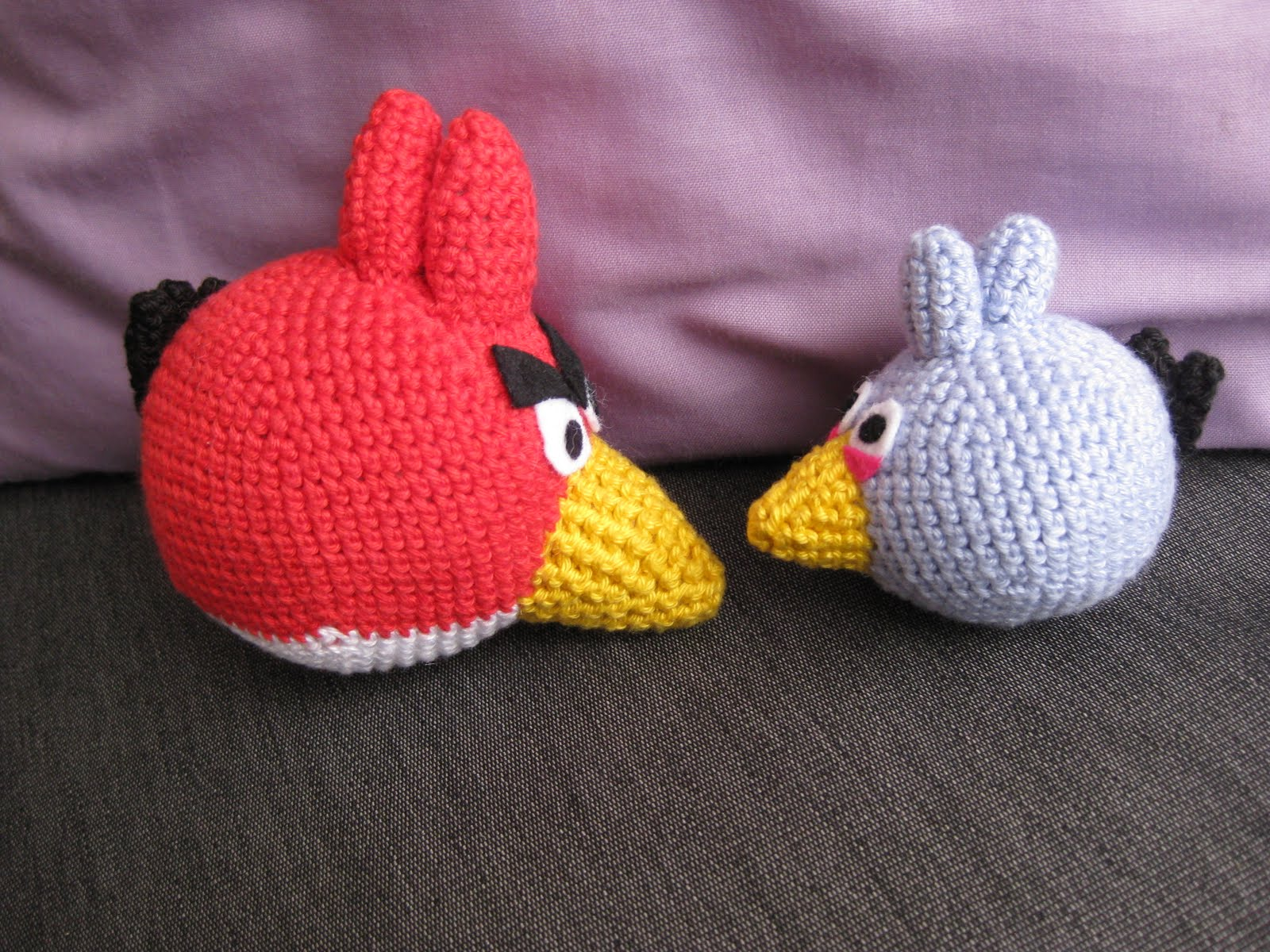 Olisushi imagine sa vie: Free pattern amigurumi angry birds