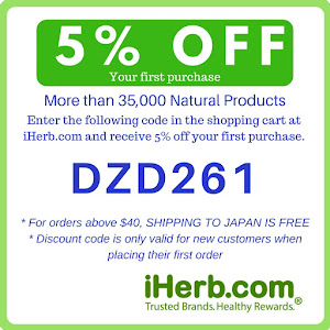 Get 5% off your first purchase at iherb