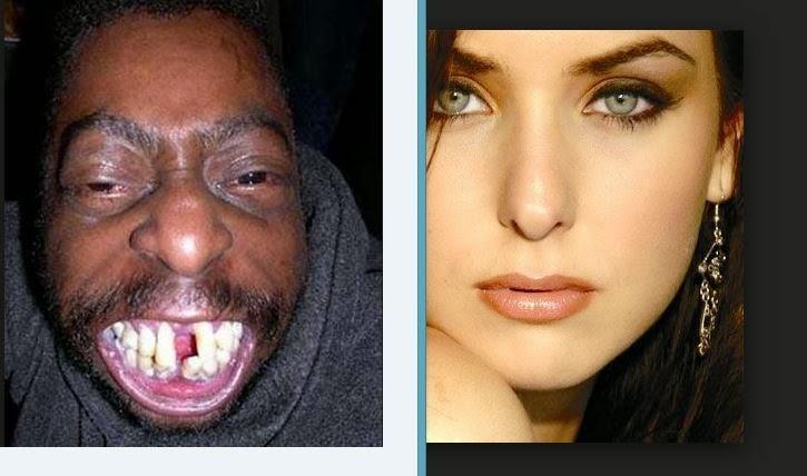 Hombres feos follando mujeres hermosas
