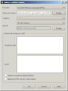 Qgis export in KML