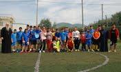 Φιλική ποδοσφαιρική συνάντηση των Κατηχ. Ομάδων μας με το Κατηχητικό του Ι.Ν. Κοιμ. Θεοτόκου Οβρυάς