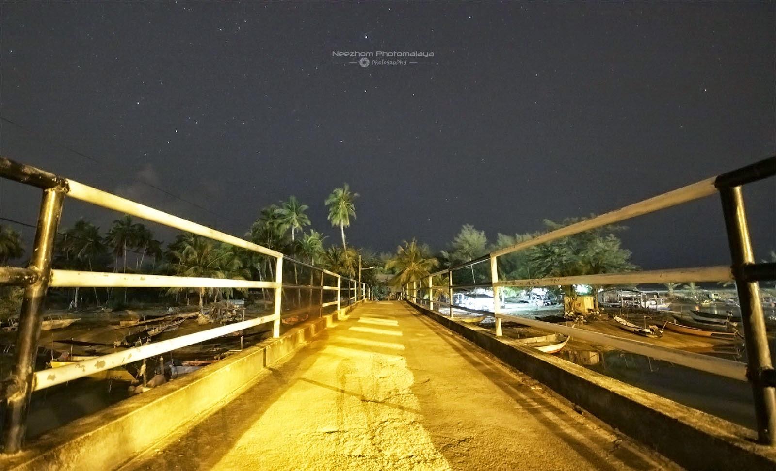 Jambatan kecil di Pulau Kekabu, Marang